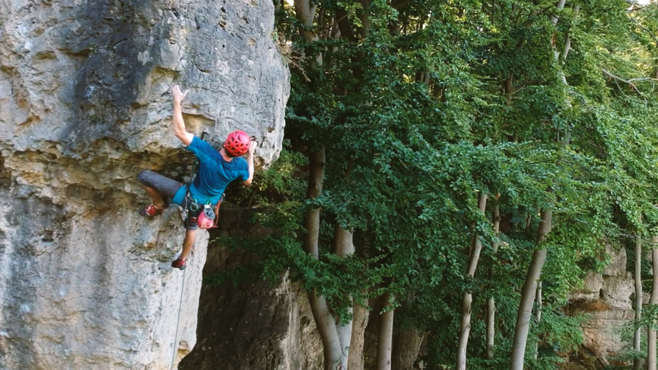 Sport Climbing Highlight 7a in Ith